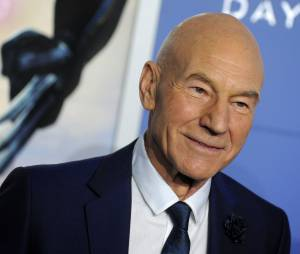 X-Men Days of Future Past : Patrick Stewart prend la pose, le samedi 10 mai 2014 à New York