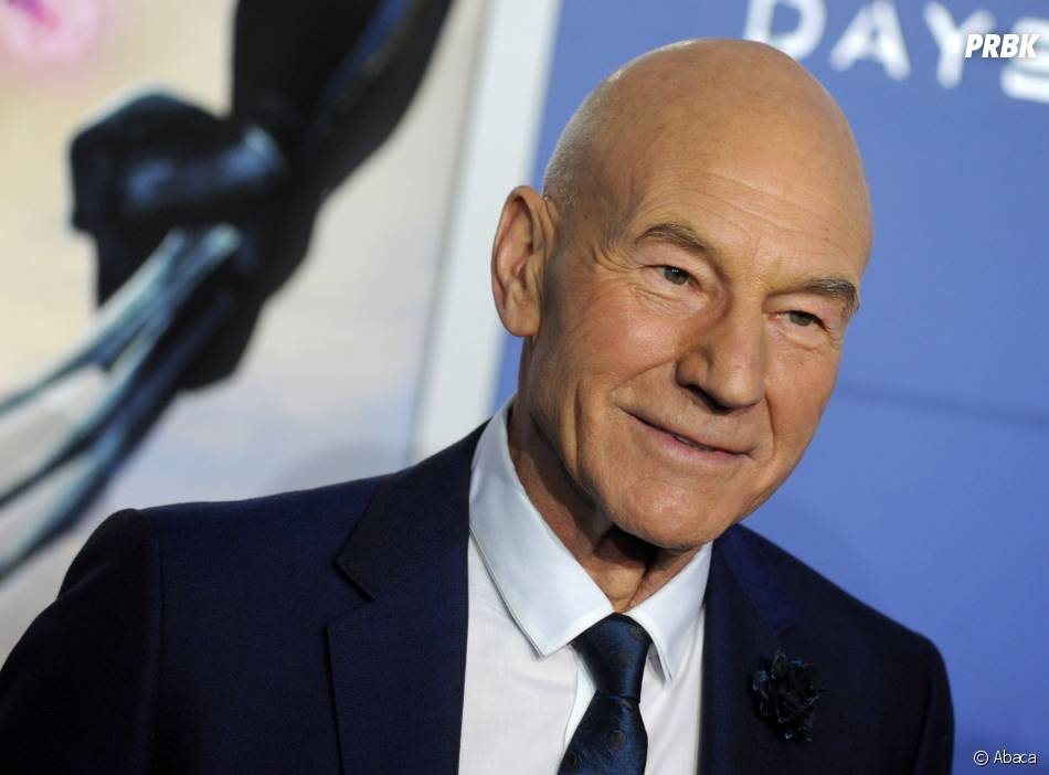 X-Men Days of Future Past : Patrick Stewart prend la pose, le samedi 10 mai 2014 à New York