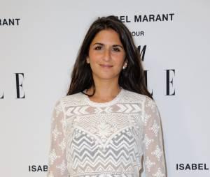 Géraldine Nakache à la soirée Isabel Marant pour H&M, le 13 novembre 2013 à Paris