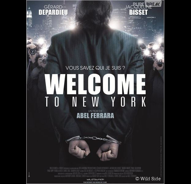 Gérard Depardieu sur l'affiche de Welcome to New York