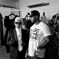"Booba et Karl Lagerfeld : ""work in progress"" pour une collab Ünkut x Chanel ?"