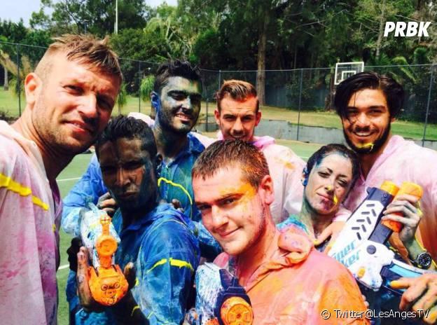 Les Anges 6 : battle de paintball dans la villa en Australie