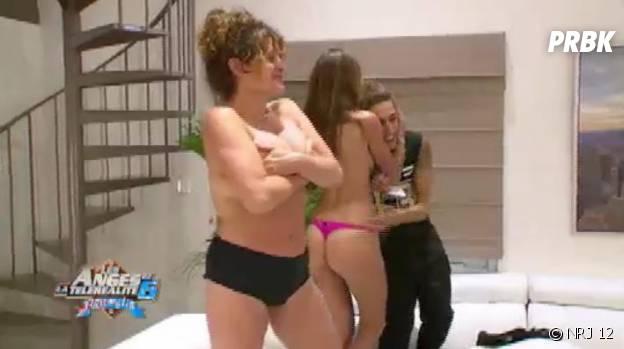 Les Anges 6 : strip-tease party dans la villa