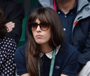 Nolwenn Leroy était à Roland-Garros, le 29 mai 2014