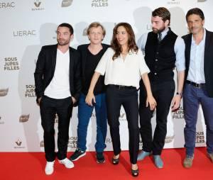 Sous les jupes des filles : l'équipe du film réunie à Paris, le 2 juin 2014