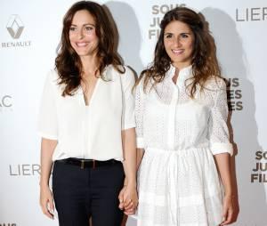 Géraldine Nakache et Audrey Dana à l'avant-première de Sous les jupes des filles, le 2 juin 2014 à Paris
