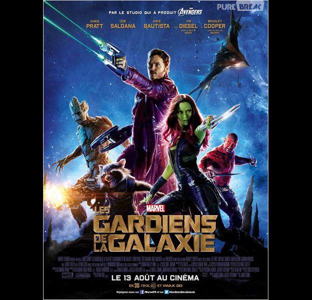Les Gardiens de la Galaxie sortira le 13 août au cinéma