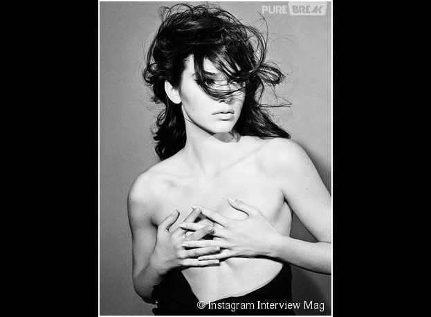 Kendall Jenner topless pour le magazine Interview