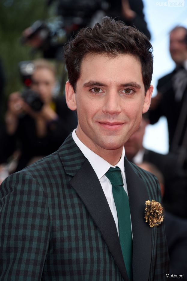 Mika sur le tapis rouge du festival de Cannes 2014