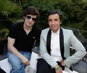 Gaspard Proust et Ariel Wizman à la soirée #SubRoom par Heineken, le 12 juin 2014 à Paris