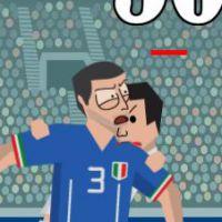 Luis Suarez : sa morsure, star d'un jeu