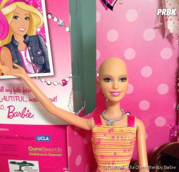 La Barbie Ella, une barbie chauve créée par Mattel pour les enfants atteints du cancer