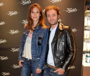 Doria Tillier et Augustin Trapenard à la soirée d'ouverture de la boutique Kiehl's à Paris, le 3 juillet 2014