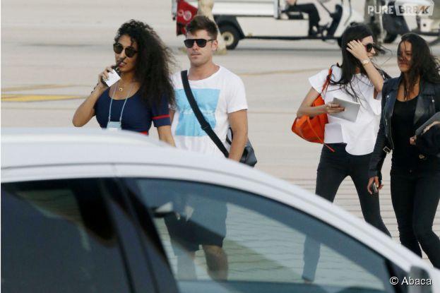 Zac Efron et Michelle Rodriguez en Sardaigne, le 3 juillet 2014