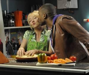 Scènes de ménages : Audrey et Lamy et Loup-Denis Elion sur une photo
