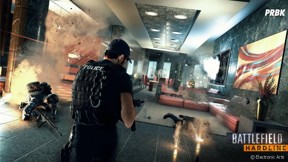 Battlefield Hardline : les joueurs ne pourront y jouer qu'en 2015