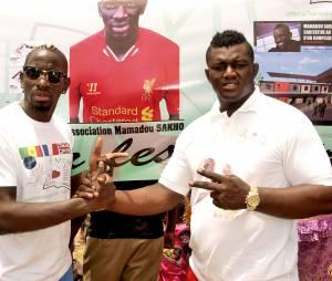 Mamadou Sakho en famille au Sénégal