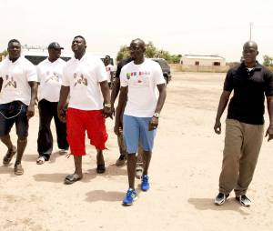Mamadou Sakho en vacances au Sénégal