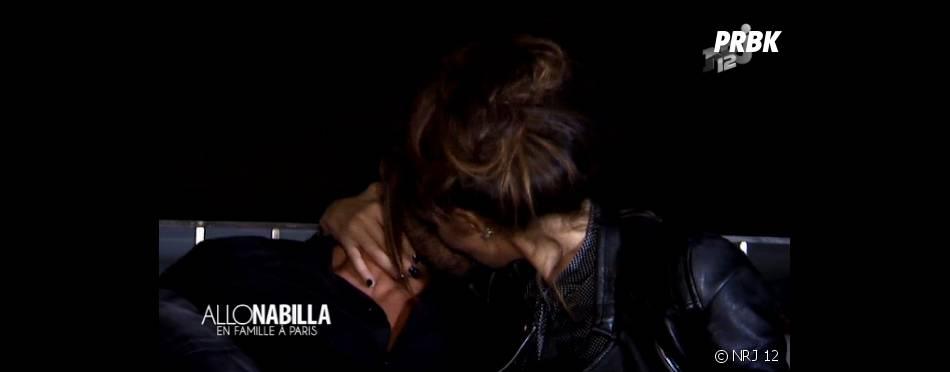 Nabilla Benattia émue après la demande de Thomas Vergara dans Allo Nabilla