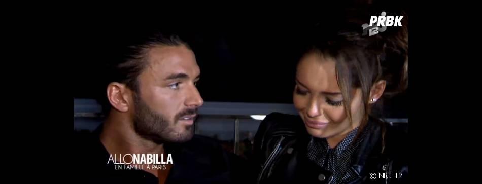 Nabilla Benattia en larmes après la demande en mariage de Thomas Vergara dans Allo Nabilla