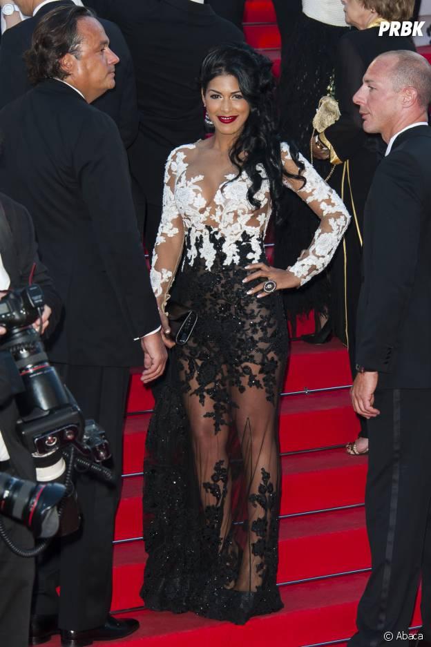 Ayem Nour en transparence au Festival de Cannes 2014