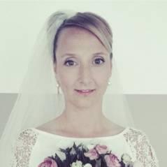 Scènes de Ménages : Audrey Lamy tease le mariage en photo