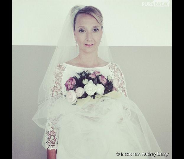Scènes de méanges : Audrey Lamy mariée dans la série de M6