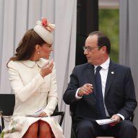 Kate Middleton très chic et complice avec... François Hollande