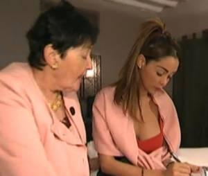 Nabilla Benattia écrit une lettre pour son père dans Allo Nabilla