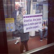[INSOLITE] Des affiches parodiques et drôles envahissent le métro parisien