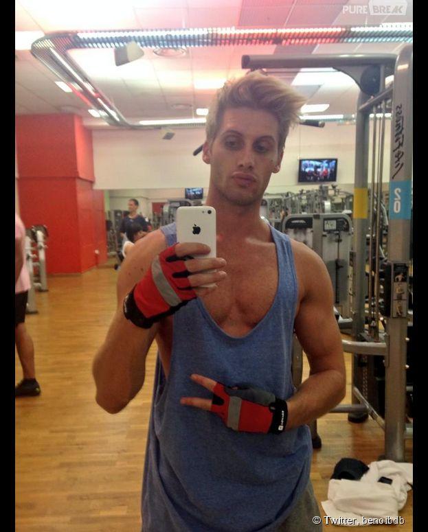 Benoît Dubois exhibe ses muscles sur Instagram