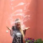 Amélie Neten : douche glacée et cri hallucinant pour le Ice Bucket Challenge