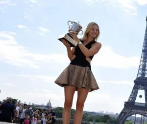 Maria Sharapova sublime pour célébrer son titre à Roland Garros 2014
