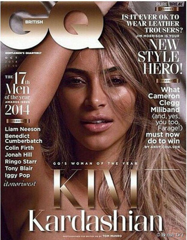 Kim Kardashian en couverture du magazine GQ