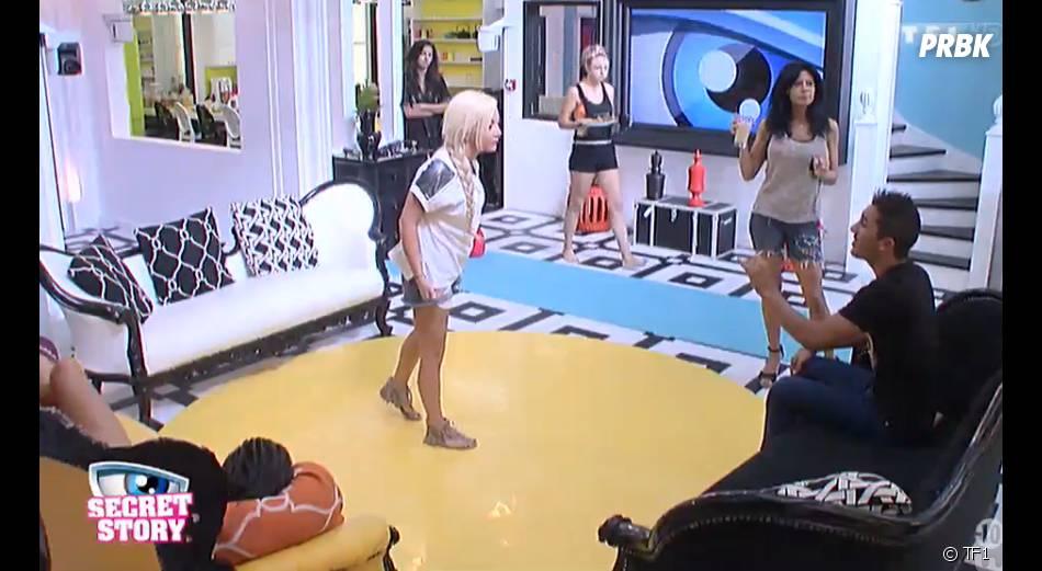 Secret Story 8 : Julie en colère contre Nathalie et Vivian