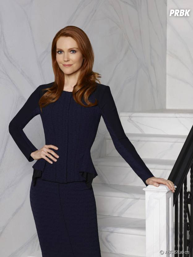 Scandal saison 4 : Darby Stanchfield (Abby) sur une photo promotionnelle