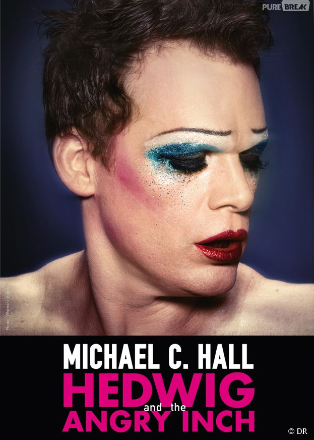 Michael C. Hall en travesti pour la comédie musicale Hedwig and the Angry Inch