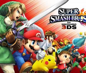Super Smash Bros 3DS est disponible depuis le 3 octobre 2014