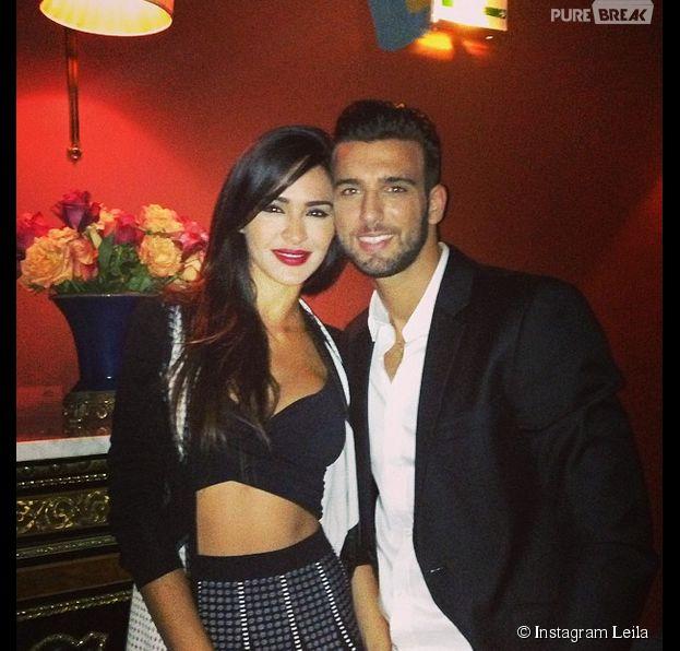 Leila et Aymeric (Secret Story 8) : dîner en amoureux à Paris