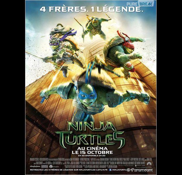 Ninja Turtles est actuellement au cinéma