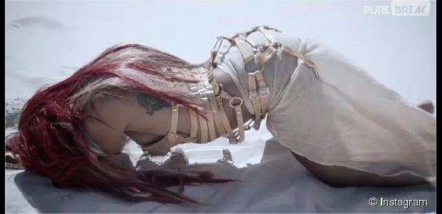 Shy'm sexy et dominée dans le teaser du clip La Malice sur Instagram
