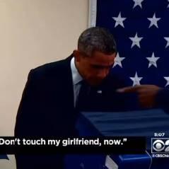 Quand Barack Obama drague la copine d'un électeur jaloux, c'est culte