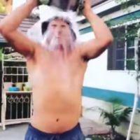 Un Ice Bucket Challenge... avec de l'eau bouillante : chaud devant !
