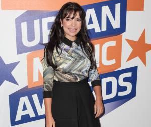 Indila aux Trace Urban Music Awards 2014, le 22 octobre au Casino de Paris