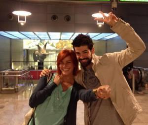 Danse avec les Stars 5 : Miguel Angel Munoz et Fauve Hautot quittent l'Espagne pour revenir à Paris