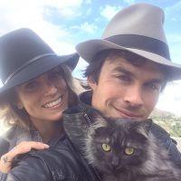"""Ian Somerhalder et Nikki Reed """"parents"""" : ils ont adopté... un chaton !"""
