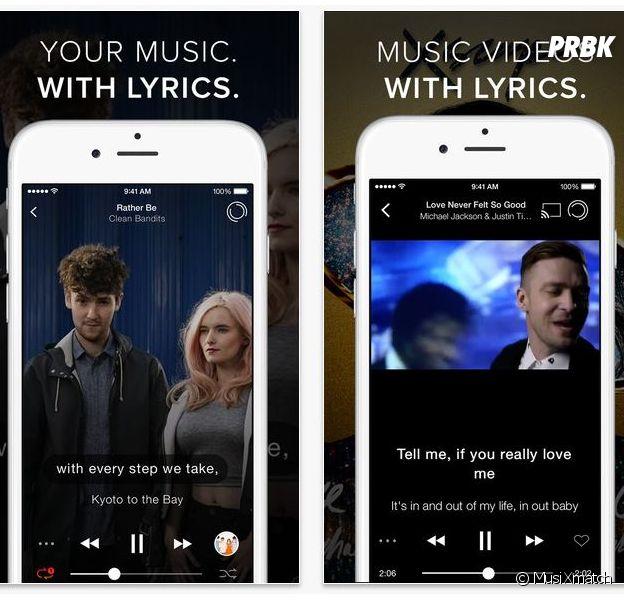 musiXmatch est disponible sur Android et iOS