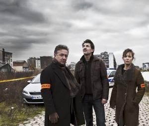 Engrenages saison 5 : Caroline Proust, Fred Bianconi et Nicolas Briançon