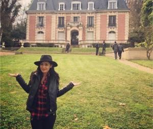 Karima Charni au château 10 ans après Star Academy 4