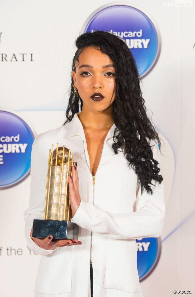FKA Twigs à la cérémonie Mercury Music Prize 2014, le 29 octobre 2014 à Londres